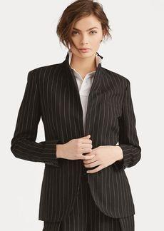 Ralph Lauren Pinstripe Linen-Wool Jacket