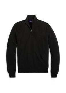 Ralph Lauren Piqué Merino-Cashmere Sweater