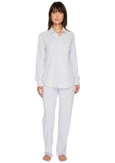 Ralph Lauren Pique Long Sleeve PJ Set