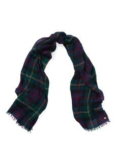 Ralph Lauren Plaid Blanket Wrap