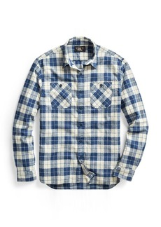 Ralph Lauren Plaid Cotton-Blend Workshirt