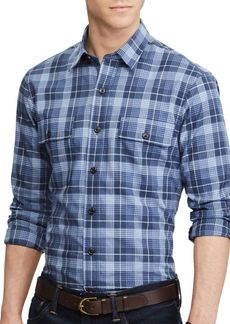 Ralph Lauren Plaid Cotton Button-Down Shirt