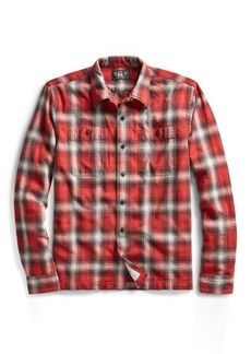 Ralph Lauren Plaid Cotton Camp Shirt