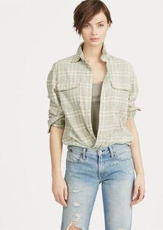 Ralph Lauren Plaid Cotton Flannel Shirt