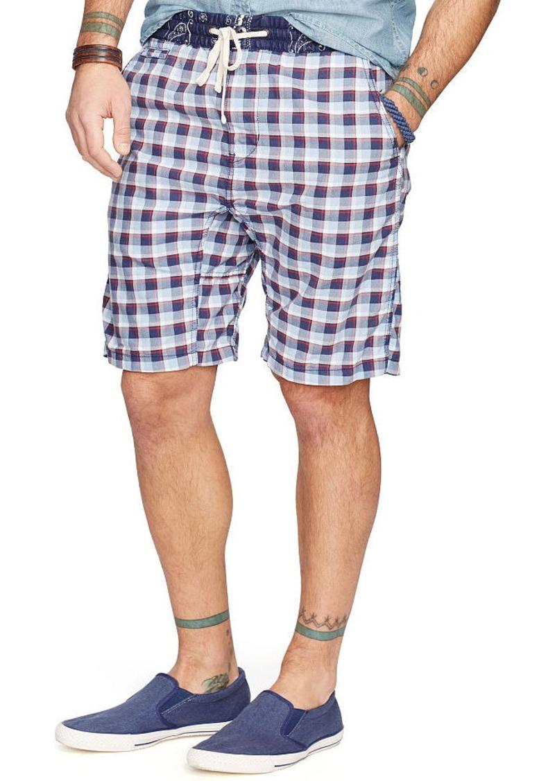 Ralph Lauren Plaid Cotton Oxford Short