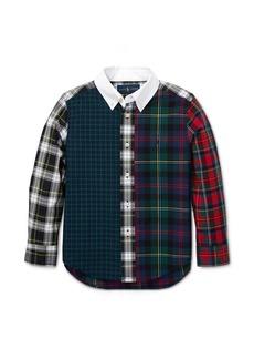 Ralph Lauren Plaid Cotton Poplin Fun Shirt