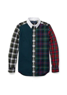 Ralph Lauren Plaid Cotton Poplin Fun Shirt