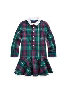Ralph Lauren Plaid Cotton Poplin Shirtdress