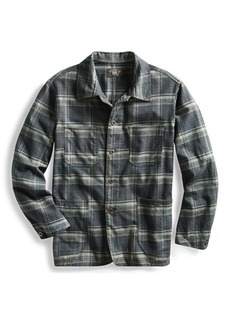 Ralph Lauren Plaid Cotton Shirt Jacket