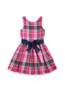 Ralph Lauren Plaid Cotton Twill Dress