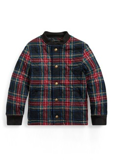 Ralph Lauren Plaid Cotton Twill Jacket