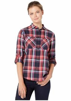 Ralph Lauren Plaid Cotton Twill Roll-Tab Shirt