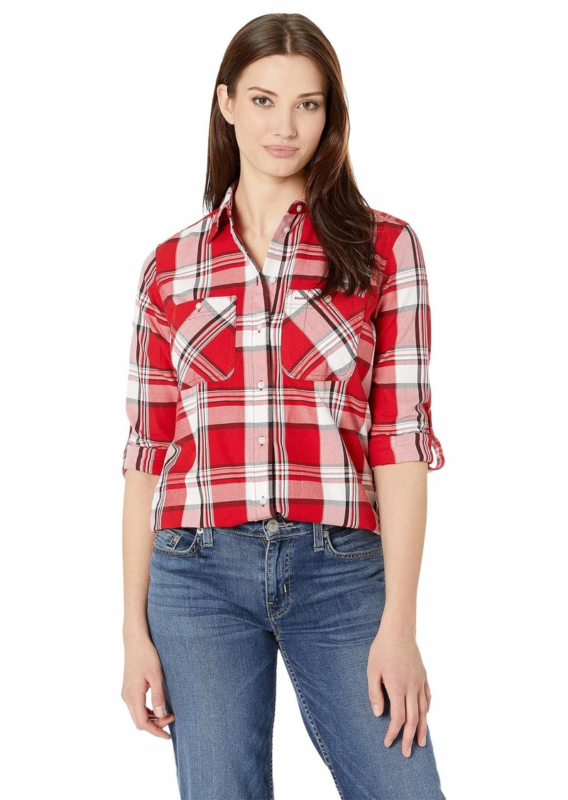 Ralph Lauren Plaid Cotton-Twill Shirt