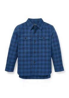 Ralph Lauren Plaid Cotton Workshirt