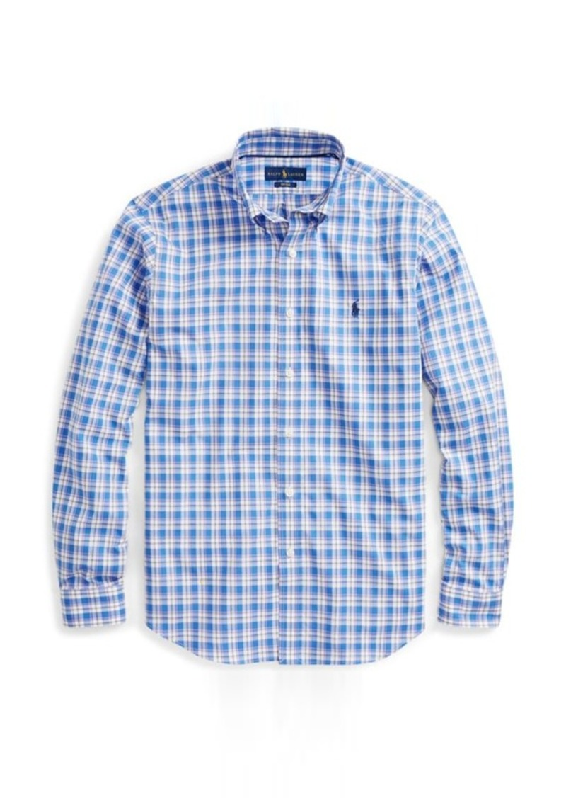 Ralph Lauren Plaid Easy Care Poplin Shirt