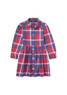Ralph Lauren Plaid Flannel Shirtdress