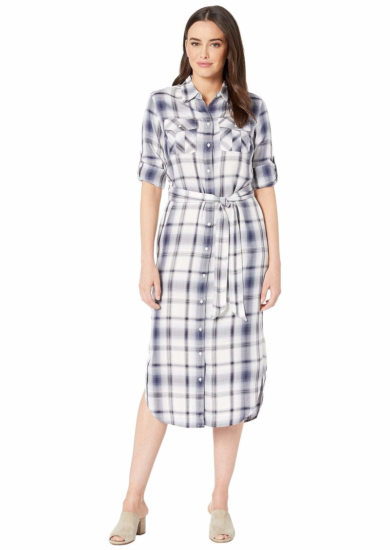 Ralph Lauren Plaid Herringbone Shirtdress