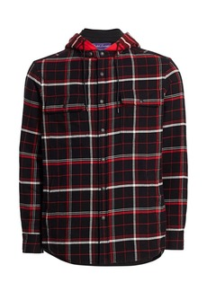 Ralph Lauren Plaid Hooded Shirt