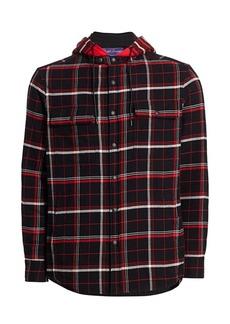 Ralph Lauren Plaid Hooded Shirt