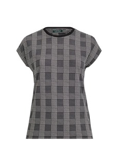 Ralph Lauren Plaid Jersey T-Shirt