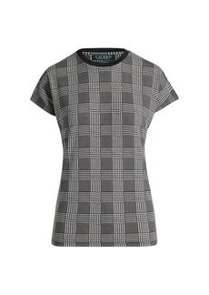 Ralph Lauren Plaid Jersey T-Shirt