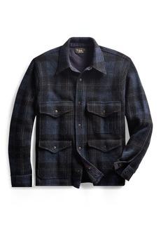 Ralph Lauren Plaid Knit Birdseye Jacket