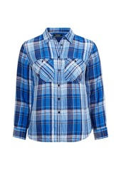 Ralph Lauren Plaid Linen Shirt