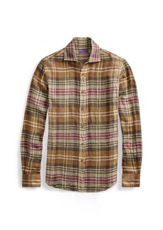 Ralph Lauren Plaid Linen Twill Shirt