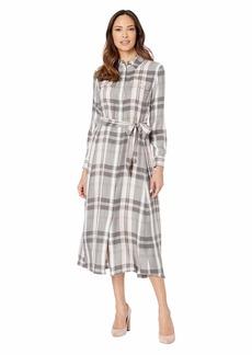 Ralph Lauren Plaid Long Sleeve Dress