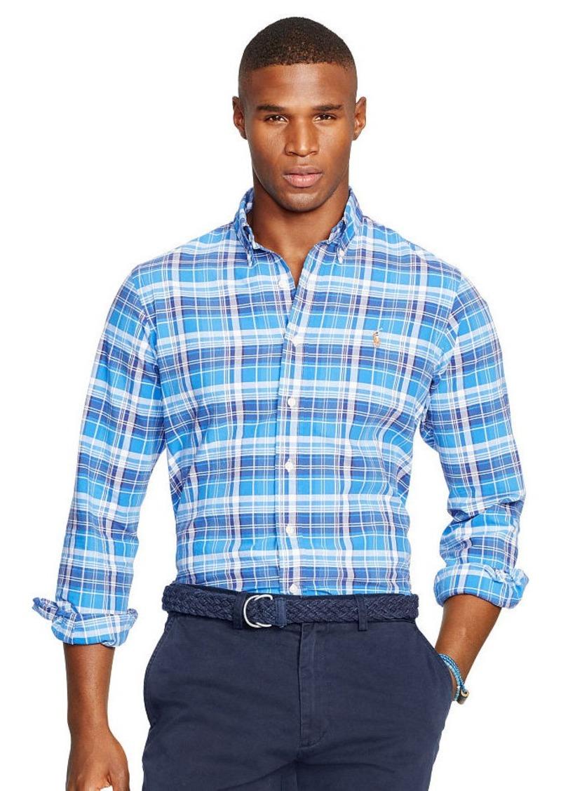 Ralph Lauren Plaid Oxford Sport Shirt
