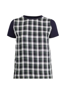 Ralph Lauren Plaid-Panel T-Shirt
