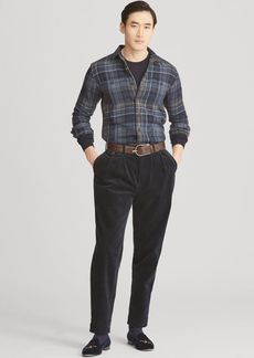 Ralph Lauren Plaid-Print Jacquard Workshirt