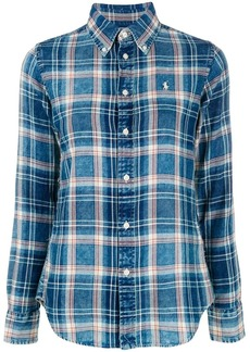 Ralph Lauren plaid print shirt