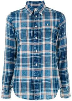 Ralph Lauren plaid print shirt