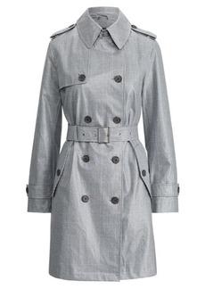 Ralph Lauren Plaid Rain Jacket