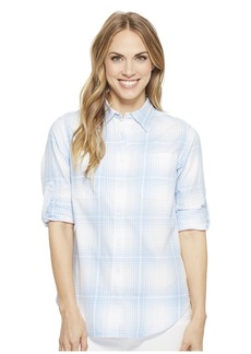 Ralph Lauren Plaid Rolled-Cuff Cotton Shirt