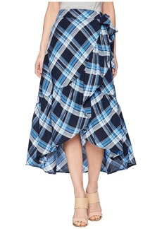 Ralph Lauren Plaid Ruffled Skirt