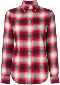 Ralph Lauren plaid shirt with logo