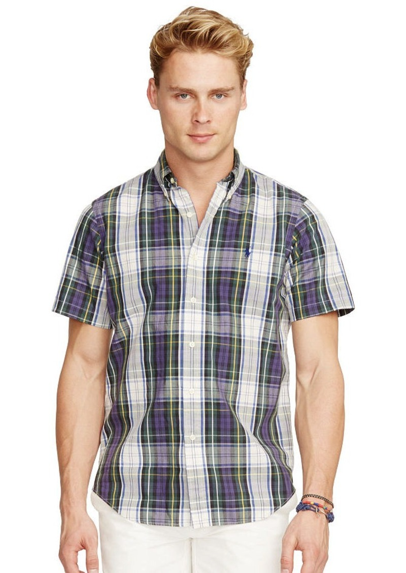Ralph Lauren Plaid Short-Sleeve Shirt