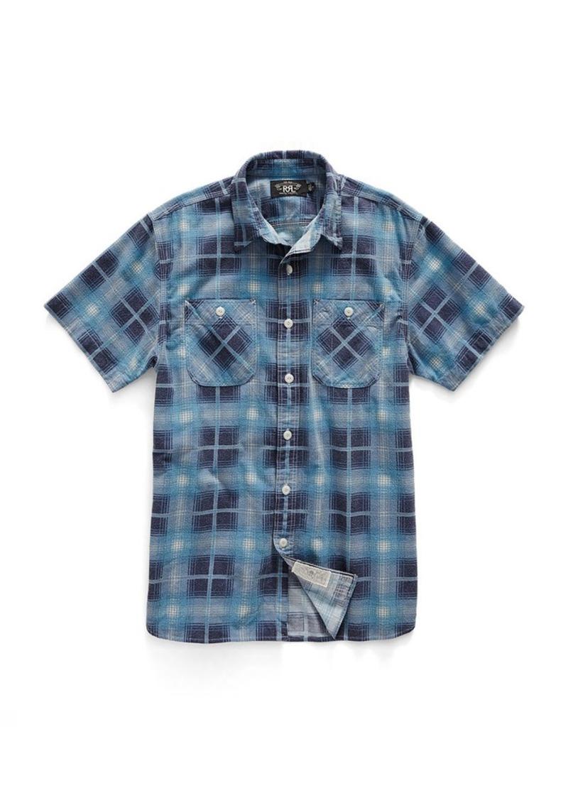 Ralph Lauren Plaid Short-Sleeve Workshirt