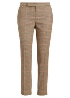 Ralph Lauren Plaid Skinny Stretch Pant
