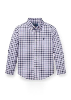 Ralph Lauren Plaid Stretch Cotton Shirt