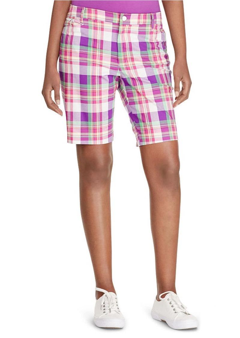 Ralph Lauren Plaid Stretch Cotton Short