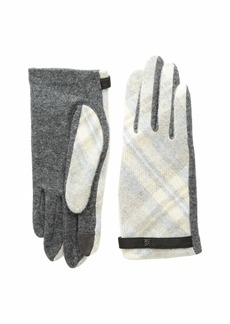 Ralph Lauren Plaid Touch Gloves