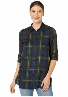 Ralph Lauren Plaid Twill Button-Down Shirt