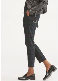Ralph Lauren Plaid Twill Straight Pant