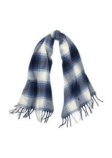 Ralph Lauren Plaid Wool Blanket Scarf