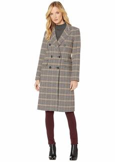 Ralph Lauren Plaid Wool Coat