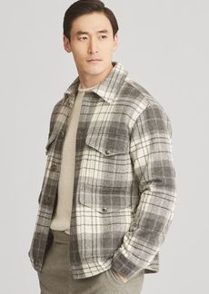 Ralph Lauren Plaid Wool Tweed Jacket