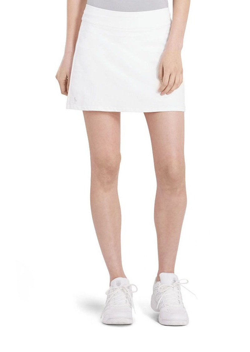 Ralph Lauren Pleated-Back Jersey Skort